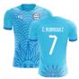 2018-2019 Uruguay Fans Culture Concept Home Shirt (C. Rodriguez 7) - Womens
