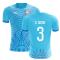 2018-2019 Uruguay Fans Culture Concept Home Shirt (D. Godin 3)