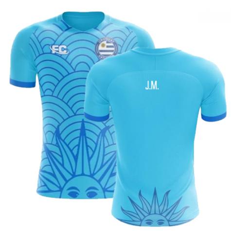 2018-2019 Uruguay Fans Culture Concept Home Shirt (J.M. Gimenez) - Womens