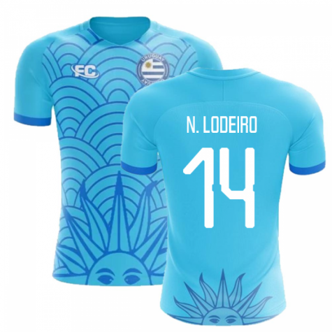 2018-2019 Uruguay Fans Culture Concept Home Shirt (N. Lodeiro 14) - Baby