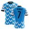 2020-2021 Uruguay Home Concept Football Shirt (C. Rodriguez 7)