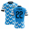 2020-2021 Uruguay Home Concept Football Shirt (D. Rolan 22)