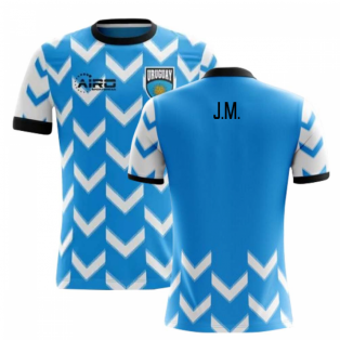2018-2019 Uruguay Home Concept Football Shirt (J.M. Gimenez)