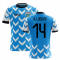2018-2019 Uruguay Home Concept Football Shirt (N. Lodeiro 14)