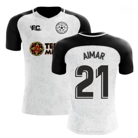 2018-2019 Valencia Fans Culture Home Concept Shirt (AIMAR 21) - Baby