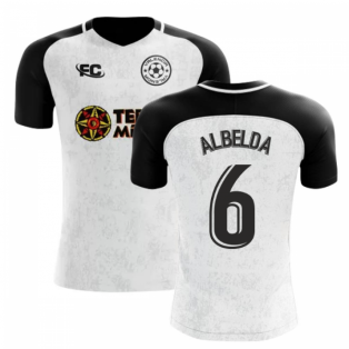 2018-2019 Valencia Fans Culture Home Concept Shirt (ALBELDA 6) - Womens