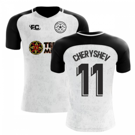 2018-2019 Valencia Fans Culture Home Concept Shirt (Cheryshev 11)