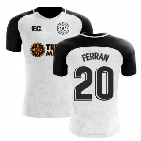 2018-2019 Valencia Fans Culture Home Concept Shirt (Ferran 20) - Little Boys
