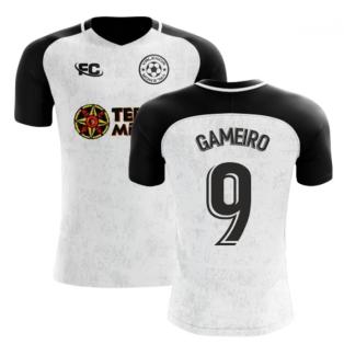 2018-2019 Valencia Fans Culture Home Concept Shirt (Gameiro 9)