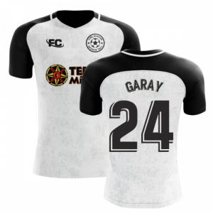 2018-2019 Valencia Fans Culture Home Concept Shirt (Garay 24) - Womens