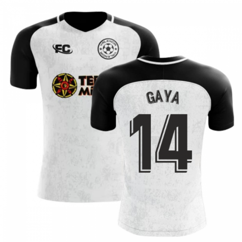 2018-2019 Valencia Fans Culture Home Concept Shirt (Gaya 14) - Kids