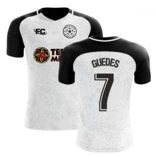 2018-2019 Valencia Fans Culture Home Concept Shirt (Guedes 7)
