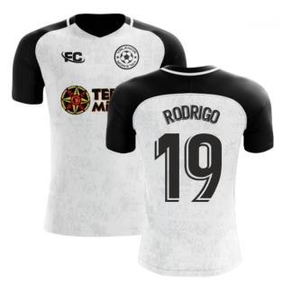 2018-2019 Valencia Fans Culture Home Concept Shirt (Rodrigo 19)