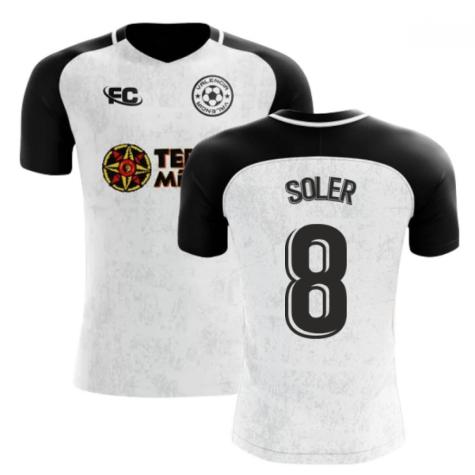 2018-2019 Valencia Fans Culture Home Concept Shirt (Soler 8)