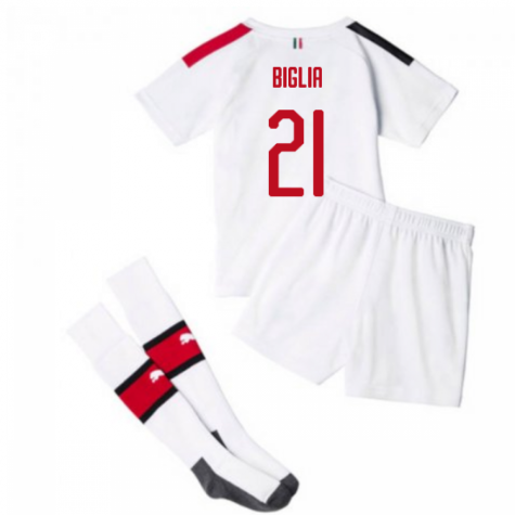 2019-20 AC Milan Away Mini Kit (BIGLIA 21)