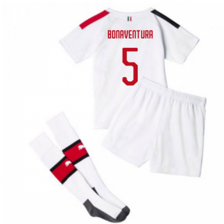 2019-20 AC Milan Away Mini Kit (BONAVENTURA 5)