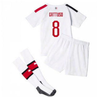 2019-20 AC Milan Away Mini Kit (GATTUSO 8)