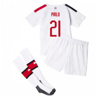 2019-20 AC Milan Away Mini Kit (PIRLO 21)