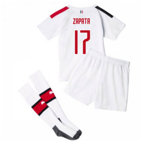 2019-20 AC Milan Away Mini Kit (ZAPATA 17)
