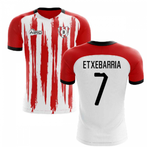 2020-2021 Athletic Club Bilbao Home Concept Shirt (ETXEBARRIA 7)