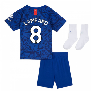 2019-20 Chelsea Home Baby Kit (Lampard 8)