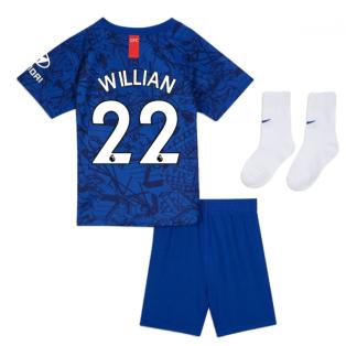 2019-20 Chelsea Home Baby Kit (Willian 22)