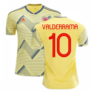 2019-20 Colombia Home Shirt (VALDERRAMA 10)