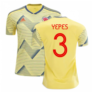 2019-20 Colombia Home Shirt (YEPES 3)