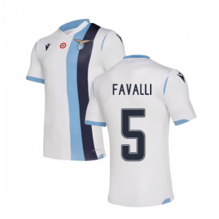 2019-20 Lazio Authentic Away Shirt (Kids) (FAVALLI 5)