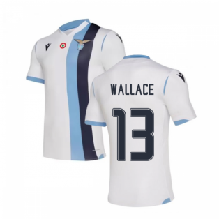 2019-20 Lazio Authentic Away Shirt (Kids) (WALLACE 13)