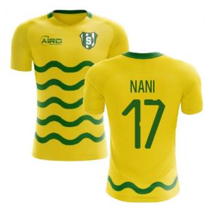 2020-2021 Sporting Lisbon Third Concept Shirt (Nani 17)