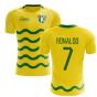 2020-2021 Sporting Lisbon Third Concept Shirt (Ronaldo 7)
