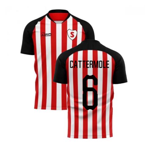 2019-20 Sunderland Home Concept Football Shirt (Cattermole 6)