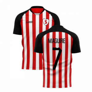 2019-20 Sunderland Home Concept Football Shirt (Maguire 7)