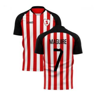2020-2021 Sunderland Home Concept Football Shirt (Maguire 7)