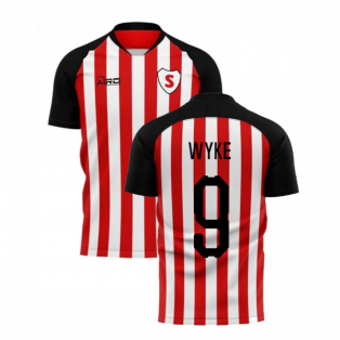 2020-2021 Sunderland Home Concept Football Shirt (Wyke 9)