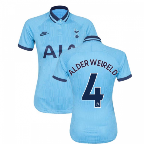 2019-20 Tottenham Third Ladies Shirt (ALDERWEIRELD 4)