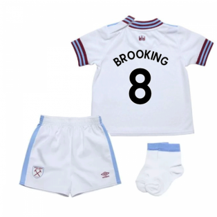 2019-20 West Ham Away Baby Kit (BROOKING 8)