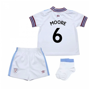2019-20 West Ham Away Baby Kit (MOORE 6)