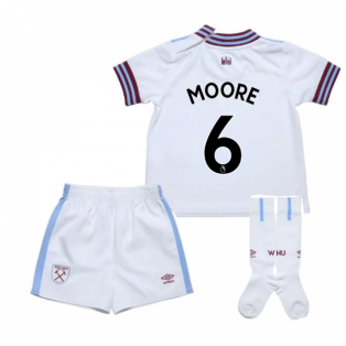 2019-20 West Ham Away Mini Kit (MOORE 6)