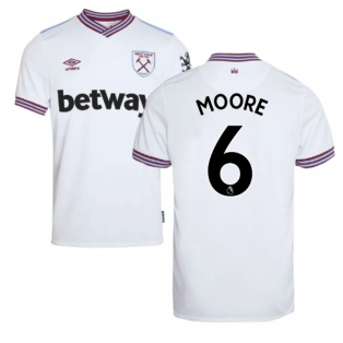 2019-20 West Ham Away Shirt (MOORE 6)