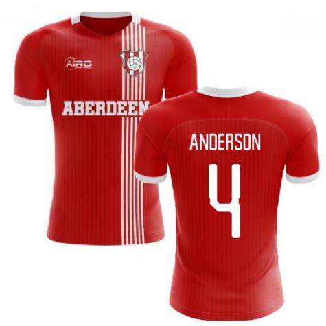 2020-2021 Aberdeen Home Concept Football Shirt (Anderson 4)