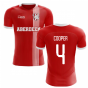 2019-2020 Aberdeen Home Concept Football Shirt (Cooper 4)