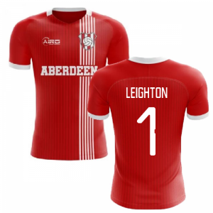 2020-2021 Aberdeen Home Concept Football Shirt (Leighton 1)