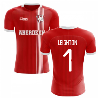 2019-2020 Aberdeen Home Concept Football Shirt (Leighton 1)