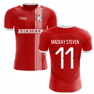 2019-2020 Aberdeen Home Concept Football Shirt (Mackay Steven 11)