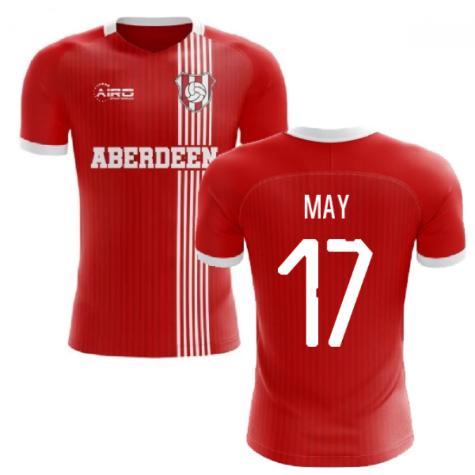 2020-2021 Aberdeen Home Concept Football Shirt (May 17)
