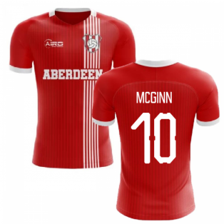 2019-2020 Aberdeen Home Concept Football Shirt (McGinn 10)