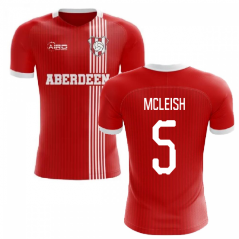 2019-2020 Aberdeen Home Concept Football Shirt (McLeish 5)