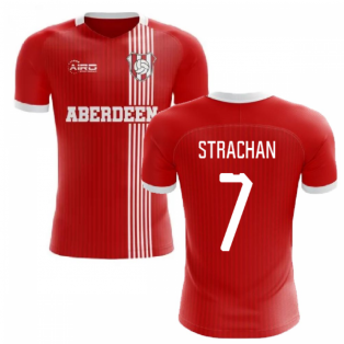 2019-2020 Aberdeen Home Concept Football Shirt (Strachan 7)